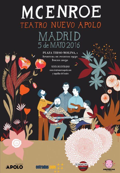 McEnroe Teatro Nuevo Apolo Madrid