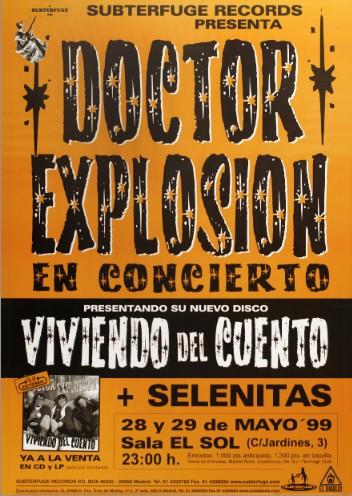 """Doctor Explosión """"Viviendo del cuento"""""""
