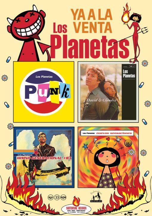 """Los Plenetas (vinilos 7"""")"""