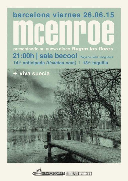 """McEnroe """"Rugen las flores"""" Barcelona"""