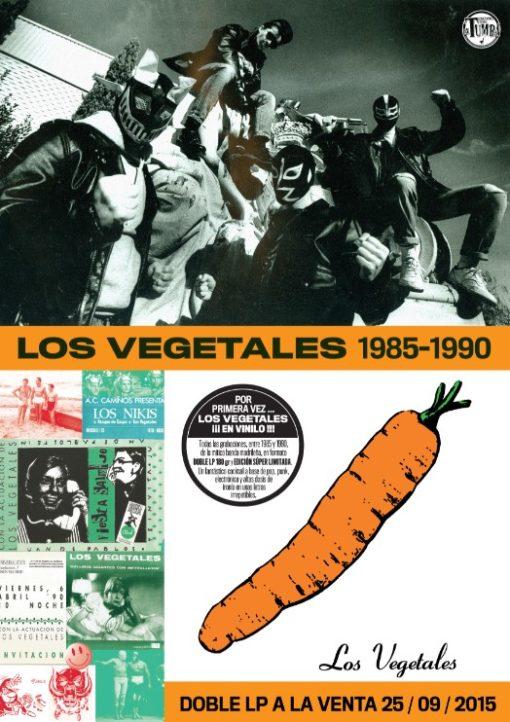 (Cartel) Los Vegetales Vinilo