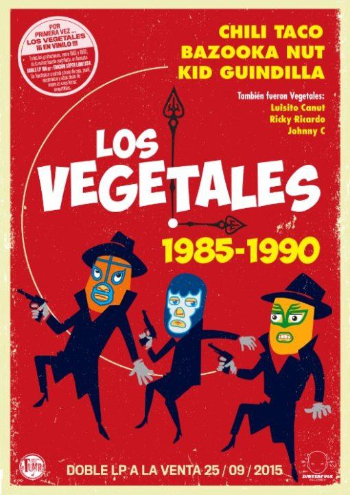 (Cartel) Los Vegetales 1985-1990