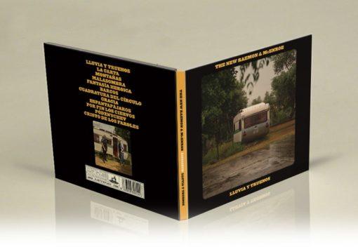 """Pack LP+CD+Cartel """"Lluvia y truenos""""."""