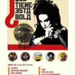 """Cartel """"Las canciones de la Bola de Cristal"""""""