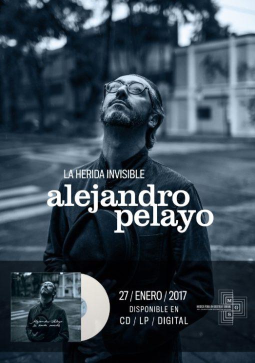 "Cartel Alejandro Pelayo ""La Herida Invisible"""