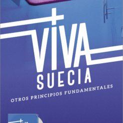 """Cartel Viva Suecia """"Otros Principios Fundamentales""""(azul))"""