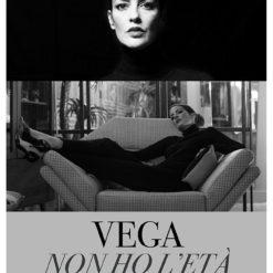 """Cartel Vega """"Non Ho L'etá"""" (Vega 1)"""