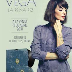 "Pack Disco Libro + Cartel Vega ""La Reina Pez"""